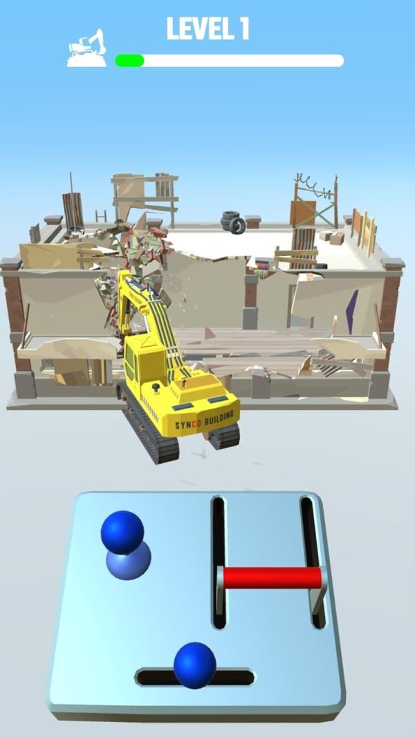 挖掘机拆拆拆截图1
