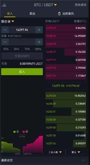 币安交易所截图1