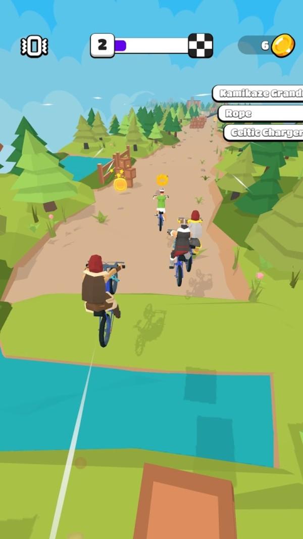 疯狂自行车大作战截图2