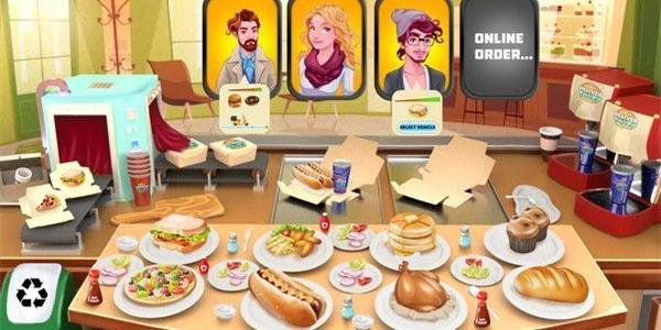 经营餐厅类手机游戏