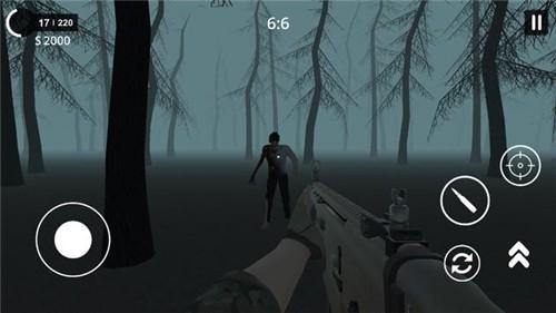 猎人僵尸生存截图1