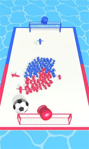 拥挤的足球截图3