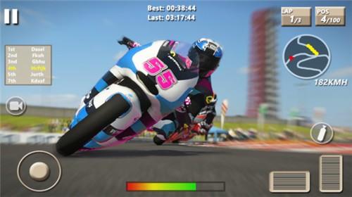速度摩托赛车截图0
