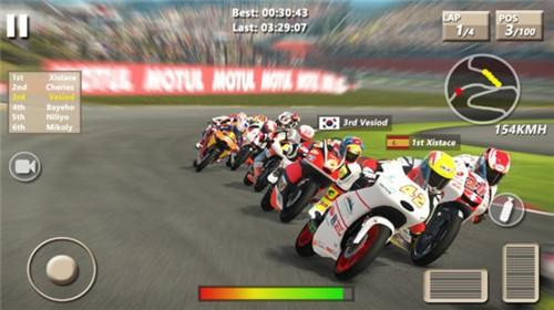 速度摩托赛车截图1