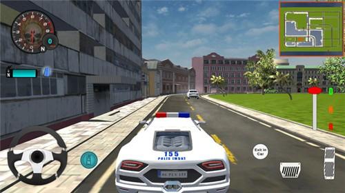 豪华警车模拟器截图1