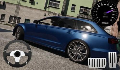 奥迪RS6模拟驾驶截图1