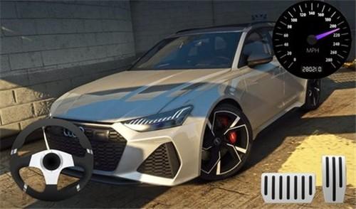 奥迪RS6模拟驾驶截图0