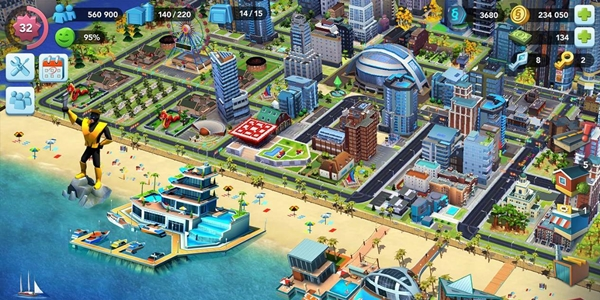 模拟城市类似的手游推荐