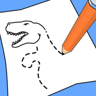 恐龙汽车动画涂鸦