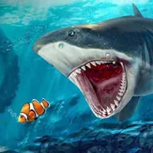 吞噬大白鲨