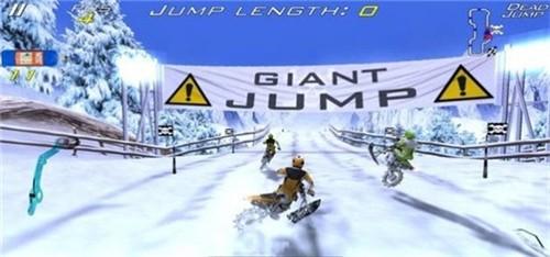 雪地极限自行车截图3
