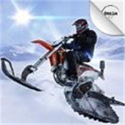 雪地极限自行车