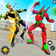 机器人vs超级英雄格斗