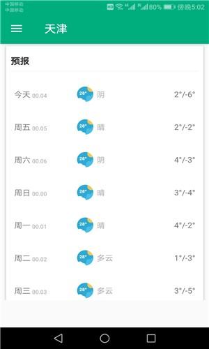 一周天气预报截图3