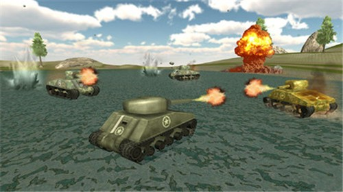 坦克摧毁世界截图2
