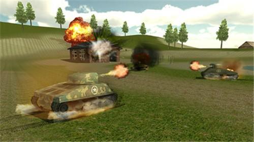 坦克摧毁世界截图3