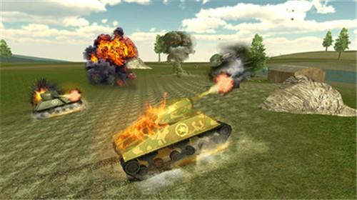 坦克摧毁世界截图1