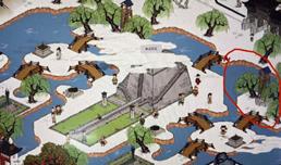 江南百景图圭表在哪 具体位置介绍