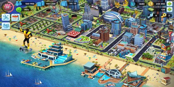 都市经营游戏大全