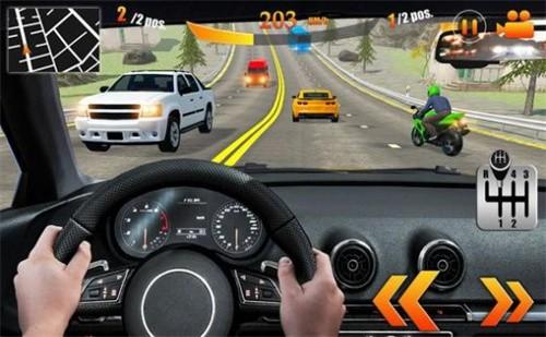 专业交通赛车汽车驾驶截图1
