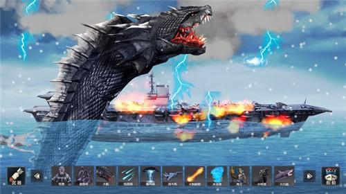 怪兽之王毁灭模拟截图3