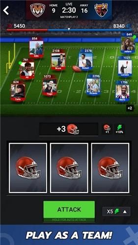 橄榄球战斗截图3