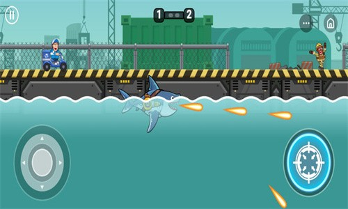变异鲨大战截图3