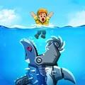 变异鲨大战