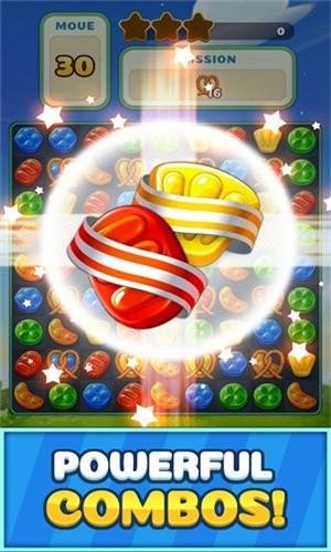 甜蜜糖果飞溅截图3