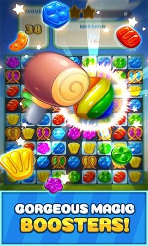 甜蜜糖果飞溅截图2