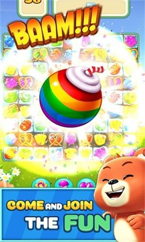 甜蜜糖果飞溅截图1