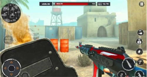沙漠士兵射击截图2