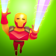 激光钢铁超人